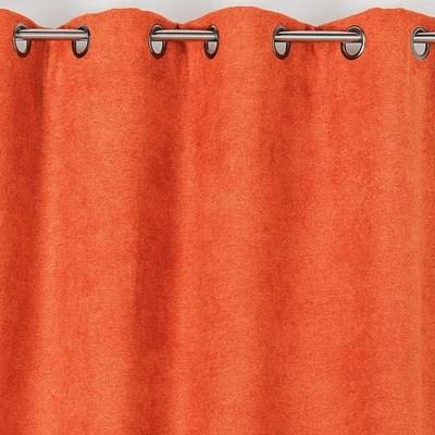 rideau occultant orange la redoute