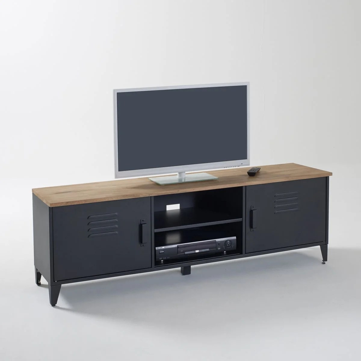 meuble tv long la redoute