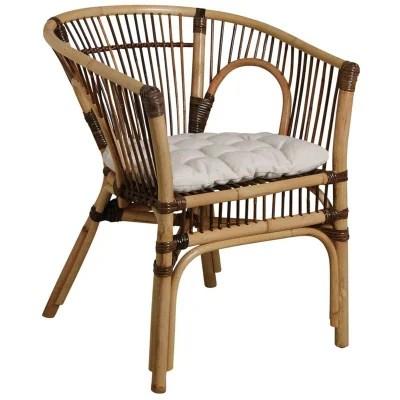 coussin pour fauteuil en rotin pivotant