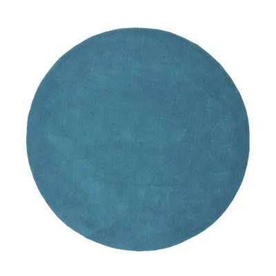 tapis bleu vert la redoute