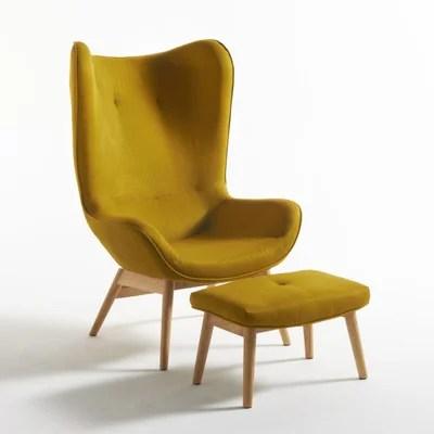 fauteuil scandinave la redoute