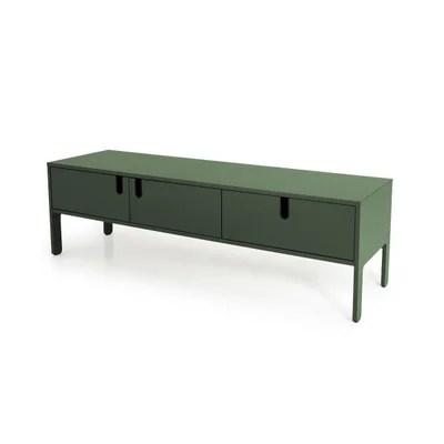 meuble tv vert la redoute