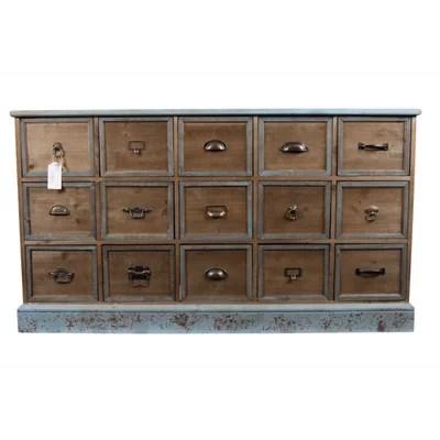 meubles bois vieilli la redoute