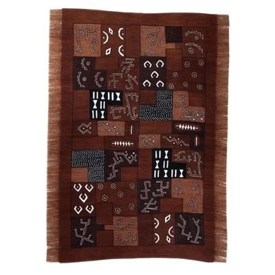 tapis couleur cuivre la redoute