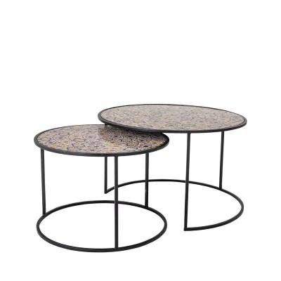 table basse mosaique la redoute
