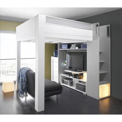 lit mezzanine 140x200 la redoute