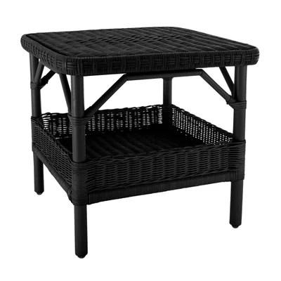 table basse laque noir la redoute