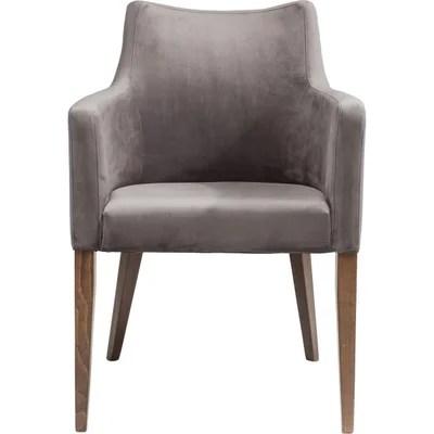 chaise accoudoir tissu la redoute
