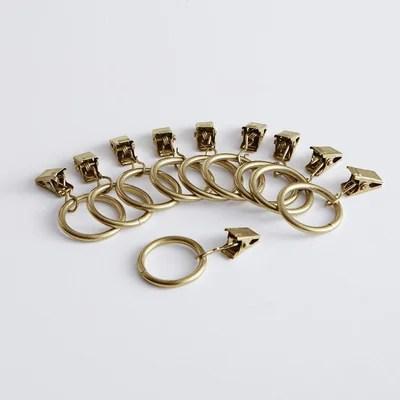 anneau pince rideau la redoute
