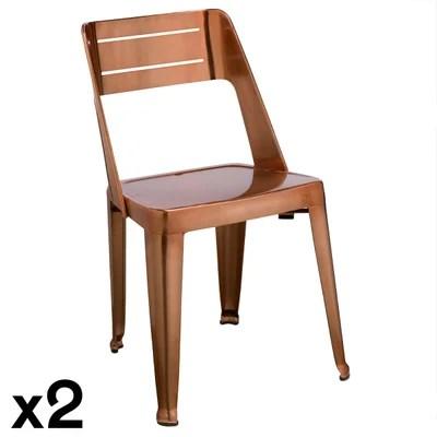 chaise moderne design la redoute