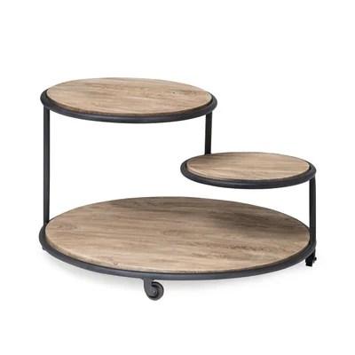 table haute sur roulettes la redoute