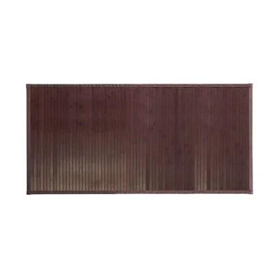 tapis bambou la redoute