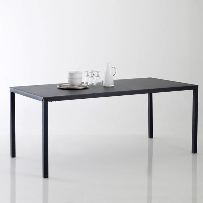 table a manger metal la redoute