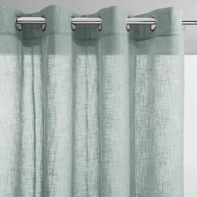 rideaux verts anis la redoute