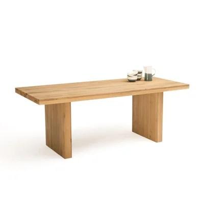 table repas bois massif la redoute
