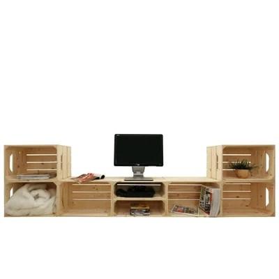 meuble modulable salon tv la redoute