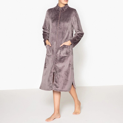 Robe De Chambre Zippee La Redoute
