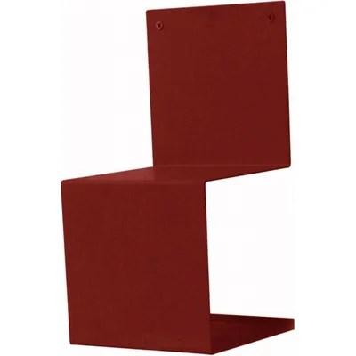 petit meuble de rangement rouge la