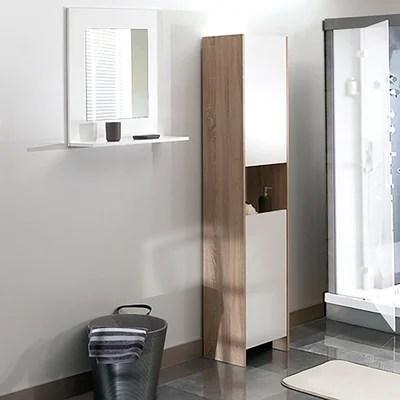 armoires et colonnes de salle de bain
