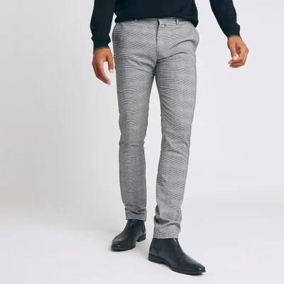 pantalon carreaux homme la redoute