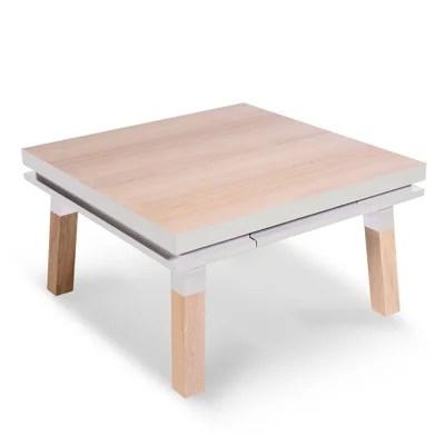 petite table salon blanche la redoute
