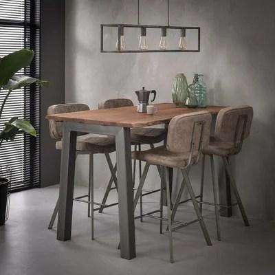 table haute metal la redoute