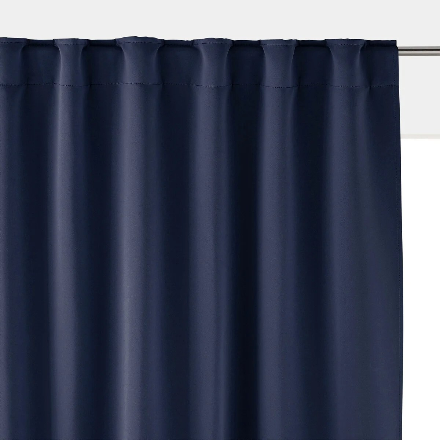 rideau occultant bleu gris la redoute