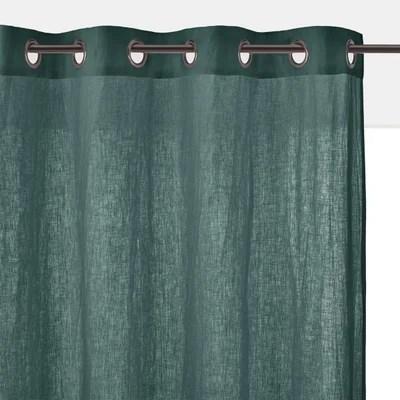 rideau vert et gris la redoute