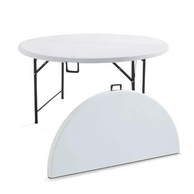 table ronde 8 personnes la redoute
