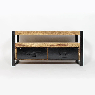 meuble tv metallique industriel la
