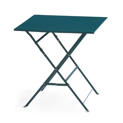 table de jardin bleu la redoute