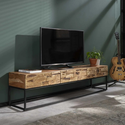 meuble tv acacia la redoute