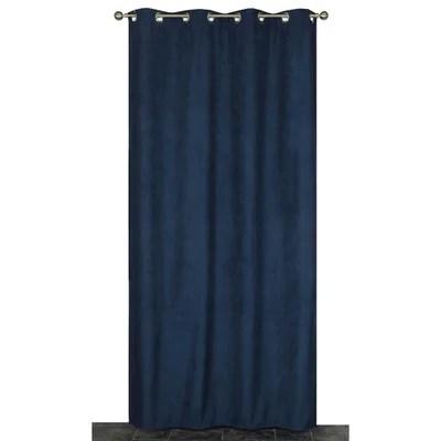 rideaux bleu petrole la redoute