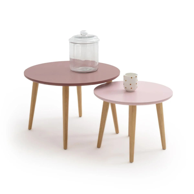 table basse gigogne scandinave la redoute