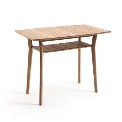 table haute de jardin en acacia gaytara table haute de jardin en acacia gaytara la redoute