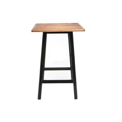 table bar carree la redoute