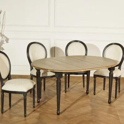 table ronde avec rallonge la redoute