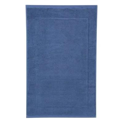 tapis de bain bleu turquoise la redoute