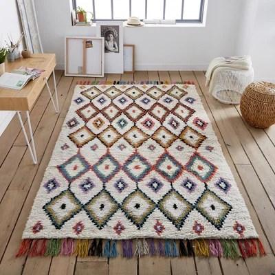 tapis berbere laine la redoute