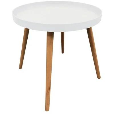 table d appoint blanche la redoute