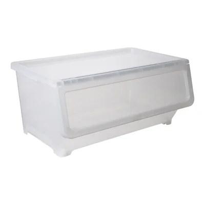 boite de rangement transparente la
