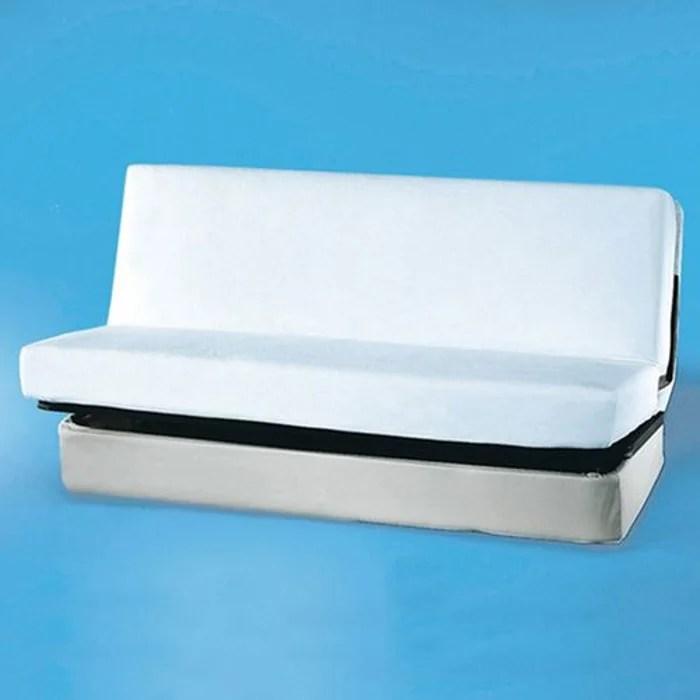 Protege Matelas Clic Clac Eponge End Polyurethane Blanc Reverie La Redoute