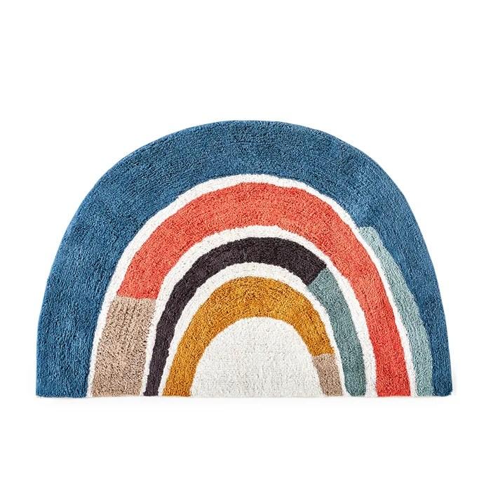 niji child s cotton rainbow rug
