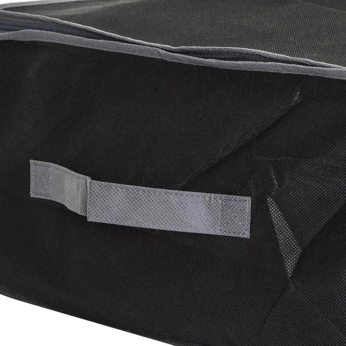 housse de rangement sous vide air store sous lit
