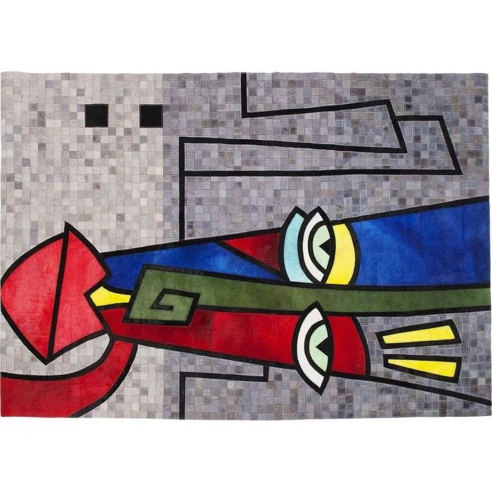 tapis face pop art 170x240cm