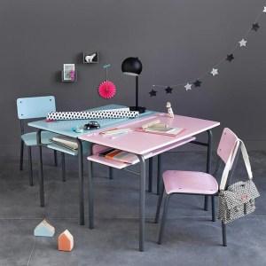 Imagen de Escritorio estilo escolar, vintage, Buton La Redoute Interieurs