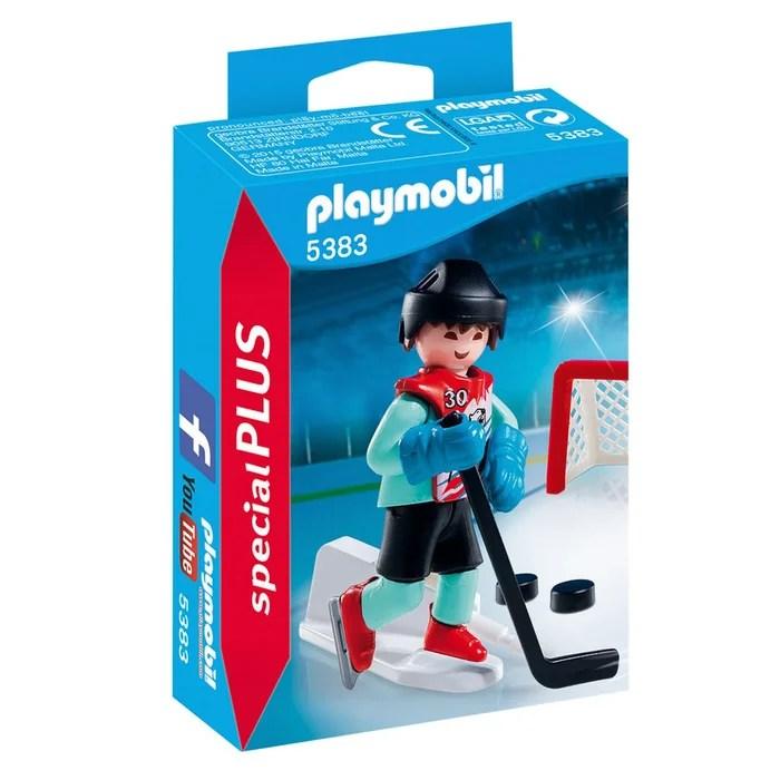 Joueur De Hockey Pla5383 Playmobil La Redoute