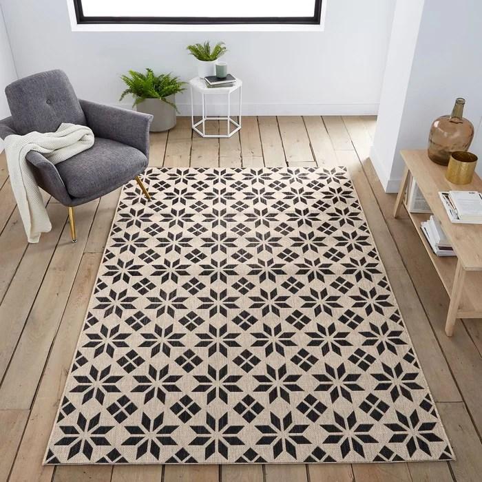 tapis tisse plat pindoor outdoor iswik