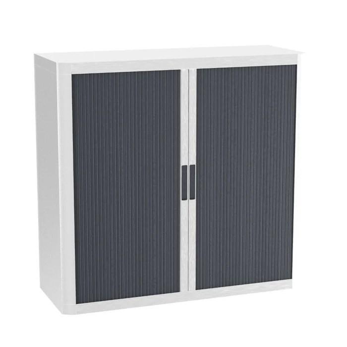 armoire de bureau metalique porte coulissante hauteur 1m