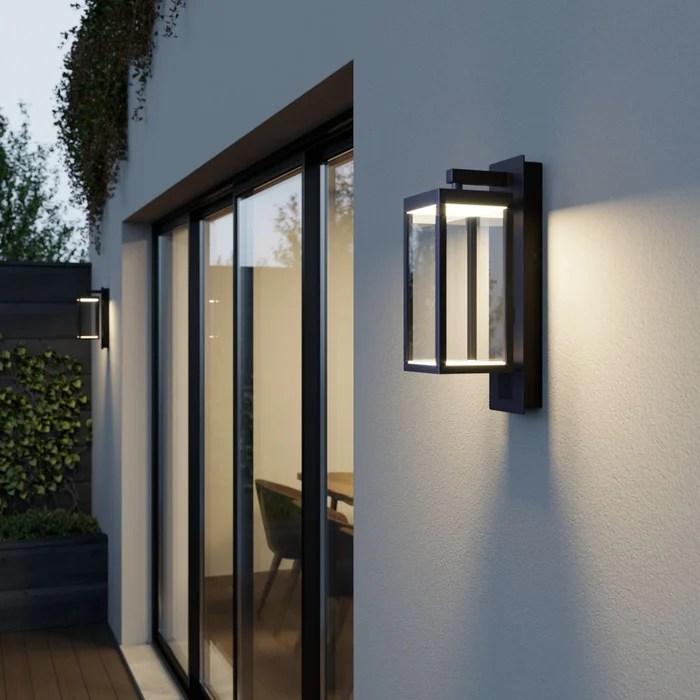 applique exterieure en aluminium moderne led